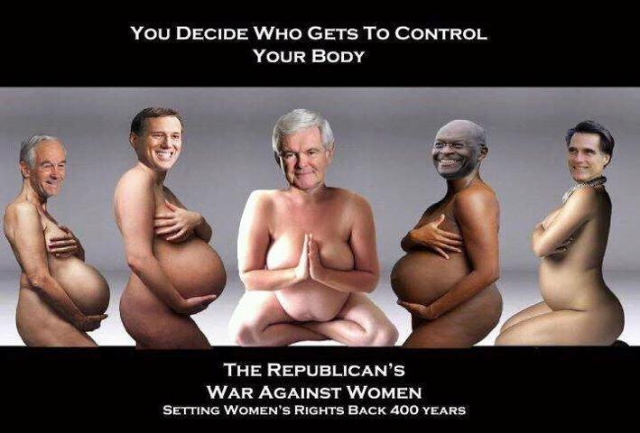 ssiimm gop war against women - رابطهای اضطراب با بزرگی شکم!